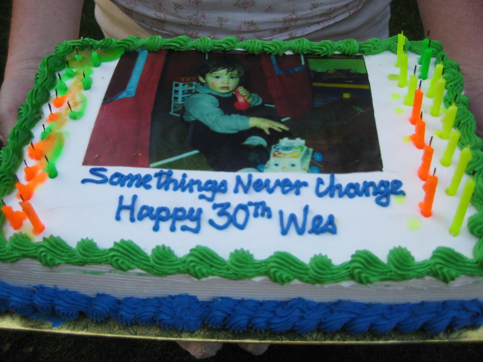 Cake Designs At Sobeys : Surprise, Wes! 1970KikiProject Blog