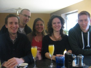 "the traditional xmas morn ""five cousins"" pic!"