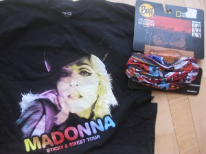 THE COUSINS FOUND ME THE LONG-DESIRED MADONNA TSHIRT!!